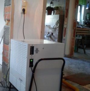 Trocknungsgerät zur Wasserschaden-Beseitigung
