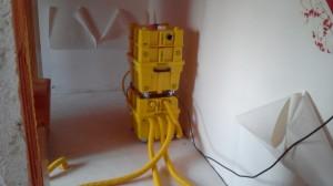 Wasserschaden-Beseitigung, Trockungsgerät